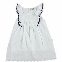Summer Baby Girl Crew-Neck Dress