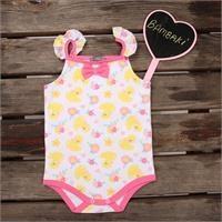 Summer Baby Girl Toy Duck Supreme Bodysuit