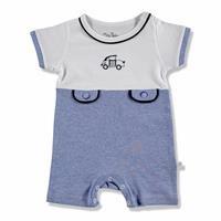 Summer Baby Boy Maris Supreme Short Sleeve Crew-Neck Jumpsuit