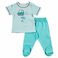 Summer Baby Boy Gravel Supreme Snapsuit Pant 2 pcs Set