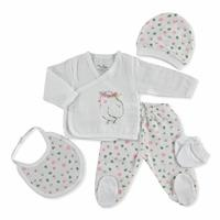 Summer Baby Girl Lisa Newborn Hospital Pack 5 pcs