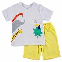 Summer Baby Boy Cute Animals T-shirt Short 2 pcs Set