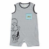 Summer Baby Boy Flintstones Jumpsuit