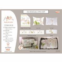 Baby Llama Travel Cot Bed Sleep Cover 5 pcs Set