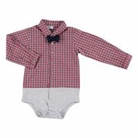 Winter Taxi Driver Teddy Bear Baby Texture Shirt Bodysuits