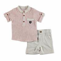 Bebek Armalı Gömlek-Şort