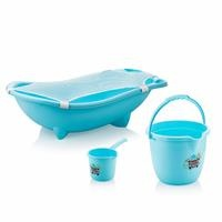 Baby Bathtub Set 3 pcs Blue + File Gift