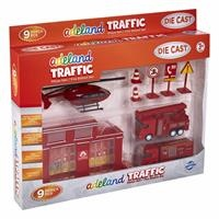 Fire Station Set 3 Years+ 9 pcs