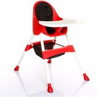 Royal Baby Feeding Chair Red
