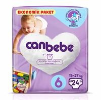 Size 6 Extra Large Baby Diaper Eco-Pack 15 kg+ 24 pcs