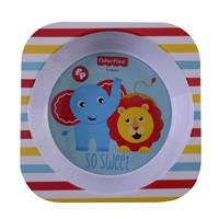Striped Baby Food Plate