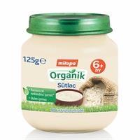 Organik Sütlaç Kavanoz Maması 125 g