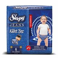 Jeans Baby Panty Diapers XL 6 Size 20 pcs