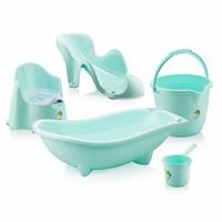 Baby Bathtub Set 5 pcs Mint