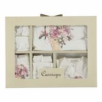 Flowered Newborn Hospital Pack 10 pcs