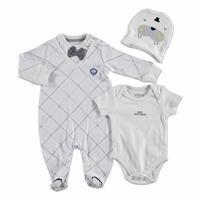 Baby Romper Bodysuit Hat Set