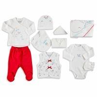 Little Whale Theme Newborn Hospital Pack 10 pcs