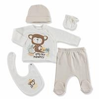 Monkey Newborn Baby Hospital Pack 5 pcs
