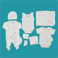 Bear Boy Newborn Baby Hospital Pack 10 pcs