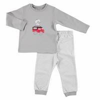 Bebek Neşeli Hayvanlar Sweatshirt Alt 2'Li Takım