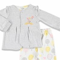 Colorful Leaves Baby Sweatshirt Pants 2 pcs Set