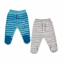 Play with Me Baby Footed Trousers 2 Pack