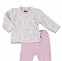 Magical Unicorn Baby Bodysuit Footed Trousers
