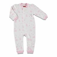 Magical Unicorn Baby Zippered Footless Romper