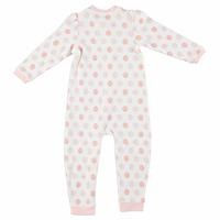 Cute Pompoms Baby Girl Zippered Footless Romper