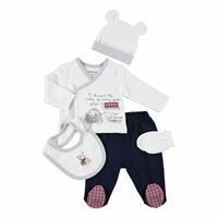 Taxi Driver Teddy Bear Newborn Baby Hospital Pack 5 pcs