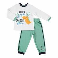 Bebek Dino 2'Li Eşofman Takım