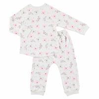 Kış Kız Bebek Bebek Koala Pijama Takımı