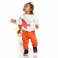 Printed Basic Baby Long Sleeve Sweatshirt