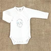 Winter Baby Boy Organic Bear Snap Bodysuit