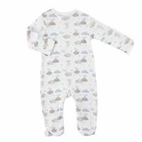 Fun Winter Baby Footed Romper