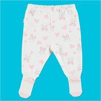 Hearted Rabbit Organic Baby Footed Trousers