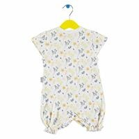 Baby Girl Yellow Flower Short Romper