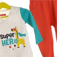 Super Heroes Baby Bodysuit Trousers Set