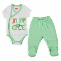 Forest Baby Boy Bodysuit Trousers Set