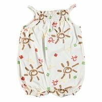 Soleil Theme Baby Girl Rope Strap Jumpsuit