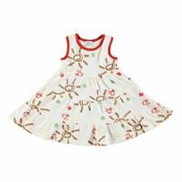 Summer Soleil Theme Baby Girl Sleeveless Dress