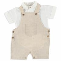 Baby Boy Linen Jumpsuit Shirt