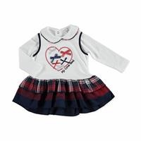 Baby Plaid Body Dress