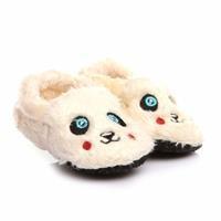 Kış Bebek Bebek Mavi Göz Patik