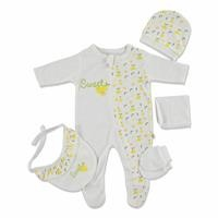 Sweet Lemon Newborn Hospital Pack 5 pcs