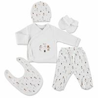 Born To Wild Newborn Baby Hospital Pack 5 pcs