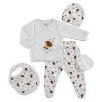 Skateboarder Hedgehog Newborn Baby Hospital Pack 5 pcs
