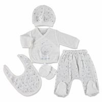 Bears And Rabbits Newborn Baby Hospital Pack 5 pcs