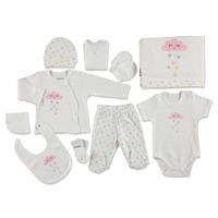Heart Clouds Newborn Hospital Pack 10 pcs