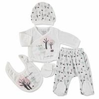 Tree And Gazelle Newborn Baby Hospital Pack 5 pcs